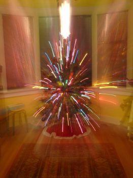 Shooting Christmas lights
