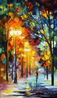 """January"" by Leonid Afremov"