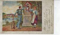 Lístek z vojenské služby mého dědy z roku 1906... The ticket from my grandfather's military service from 1906...