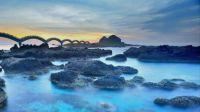 Sanxiantai Dragon Bridge in Taitung, Taiwan