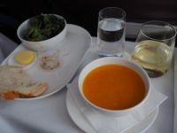 Qantas : Christchurch - Melbourne. Lunch