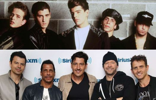 New Kids on the Block 1990 & 2016