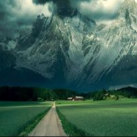 French Alps - the approach