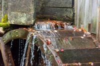 Water wheel close-up, Cades Cove