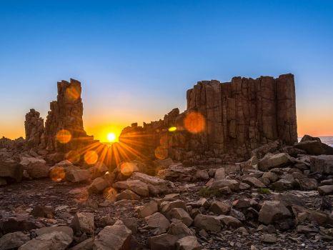 Sunrise Over Bombo Headland