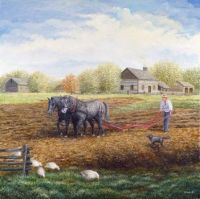 The Land Provides by Kevin Dodds