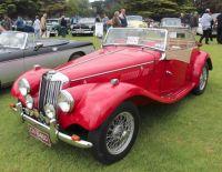 """MG """"TF"""" Midget  -  1954"""
