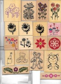 some of my card-making stamps