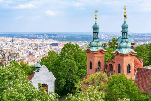 Praha- pohled z Petřína