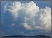 Letní mraky...  Summer clouds ...