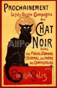 Tournée du Chat Noir by Théophile Alexandre Steinlen