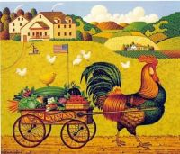 Charles Wysocki - Rooster Express