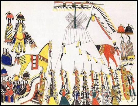 Bowstring Society (1876) ~ Howling Wolf (Southern Cheyenne)