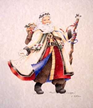 Old World Santa by L. Kotila