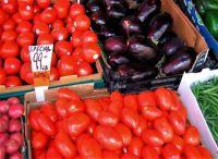 At a Farmers' Market (medium)