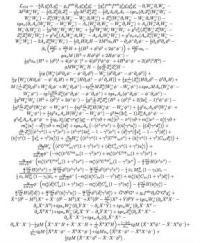 Lagrangian Equation of the Standard Model