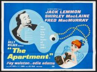 THE APARTMENT - 1960 MOVIE POSTER JACK LEMMON, SHIRLEY MacLAINE, FRED MacMURRAY