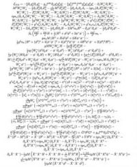 Lagrangian Equation of the Standard Model