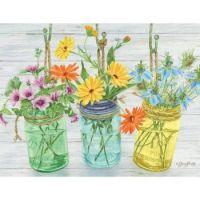 Herb and Flower Jars
