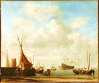 dutch port, 1665