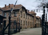 The Infamous gateway to Auschwitz 1