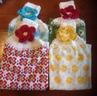 Pioneer Woman Crocheted Top Dish Towels