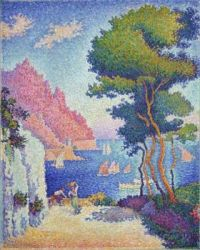 "Themes ""Summer bliss"" - Paul Signac  (to Julia P.)"