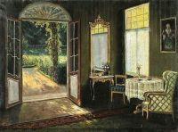 Stanislav Yulianovich Zhukovsky - in sunshine, elegance