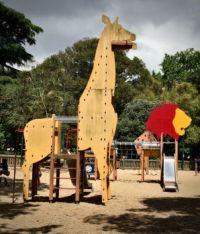 Children's Playground, Lisbon, Portugal