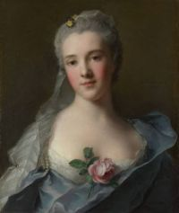 Jean-Marc Nattier  Portrait of Manon Balletti 1757