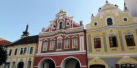 historické domy Písek CZ