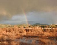 Rainbow over Lake Hodges