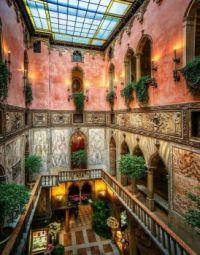 Interior of the Hotel Danieli Venice