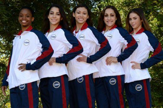 2012 Womens' Olympic Gymnastic Team