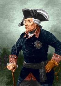 Frederick II of Prussia in Waffenrock