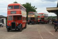 Buses at the East Anglian Railway Museum
