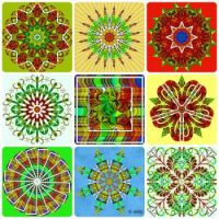 Shirley's Manipulated Plaid Recycled