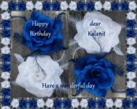 Happy Birthday dear Kalanit (Clntred)