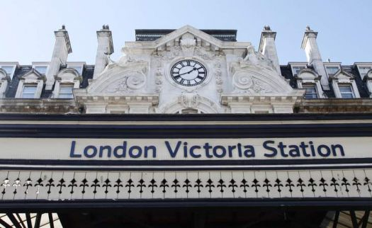 Victoria Train Station. London.