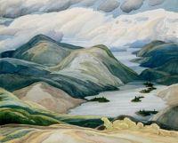 Grace Lake by Franklin Carmichael