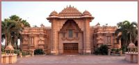 Entrance to the Delta Akshardham Temple Complex