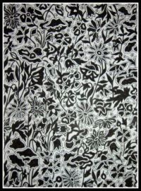 Art - Colouring - Liberty Colouring Book - Poppy and Daisy - Black & White (Large)