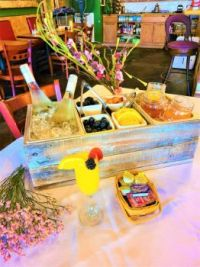 """""""This restaurant gives mini Mimosa bars for the table since covid axed any buffets. Brilliant!!!"""""""