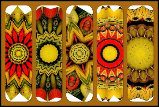 Autumn Gourds - KaleidoBOARDS!