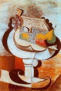Fruit Dish - Ovocná mísa - 1917