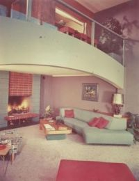 Gorgeous Mid-Century Modern living room