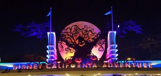 Disney California Adventure Halloween Time