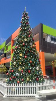 Christmas Tree at Eaton Fair Shopping Centre, Eaton WA