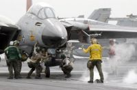 US Navy F-14 Deck Operations