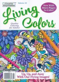 Living Colors Coloring Book